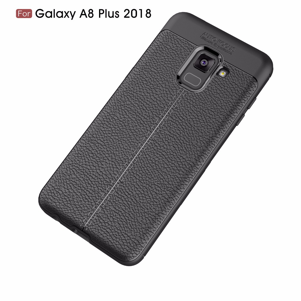 For Samsung A8 plus 2018 Case Phone Protective ShockProof Back Shell Soft Silicone Case Luxury TPU For Samsung A8 plus 2018
