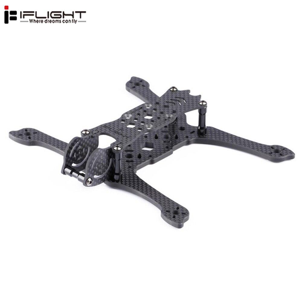 iFlight iH4 4 Inch 173mm Wheelbase 4mm 3k Arm Carbon Fiber Frame Kit compatible with Runcam mini split 2 DIY Racing drone