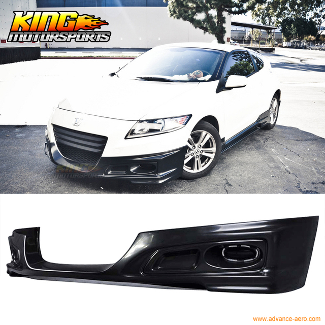 Fit 11 12 Honda Crz Cr Z 2dr Front Per Lip W Fog Covers