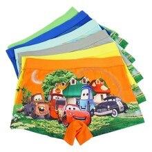 4pcs/lot Cartoon Underpants Quality Automobile General Mobilization Pants Catamite Panties Cars Baby Boys Underwear Kid Panty