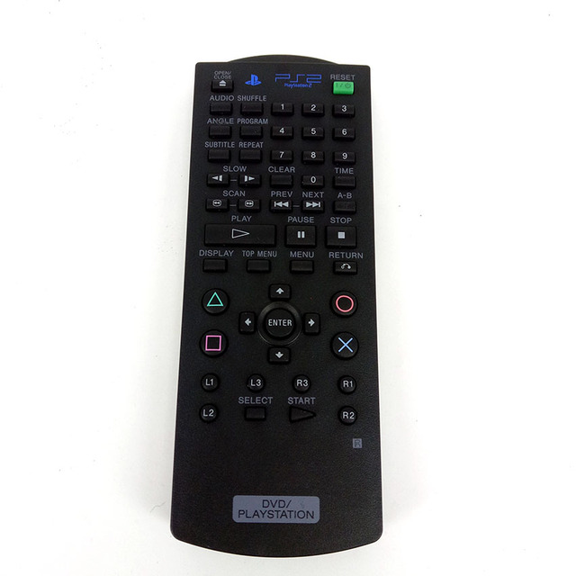 US $8 57 22% OFF|Hot sale FOR SONY PLAYSTATION 2/PS2 REMOTE DVD Player  Remote Control Original FIT FOR scph 77001 70000-in Remote Controls from