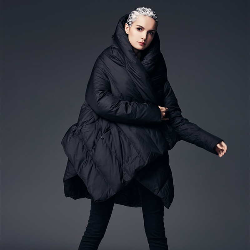 bourgogne Vers Parkas Femmes Parka 6xl Manteau Bas Européenne Le Manteaux Et Veste Style Asymétrique Mode Noir D'hiver Lâche Vestes XgwxqU8n