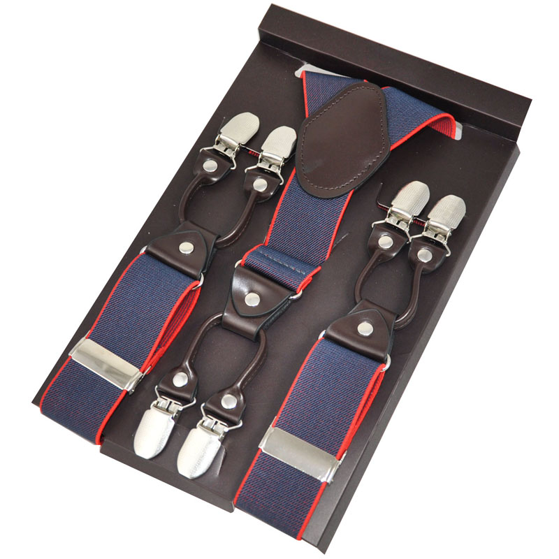 Candido In Pelle Marrone Bretelle Per Uomo Doppio Colore Pantaloni In Stile Occidentale Uomo Bretelle Cinturino Regolabile In Lunghezza Cinghie 3.5*120 Centimetri