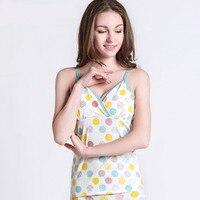 2018 phụ nữ mùa xuân thai mang thai dưỡng cho con bú vest tank tops áo giải trí áo cami cho phụ nữ mang thai
