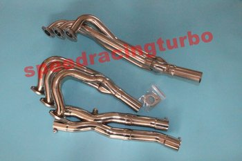 EXHAUST HEADER E30 325 325e EXHAUST HEADER STAINLESS STEEL FULL HEADER/EXHAUST+DOWN/Y PIPE EXHAUST HEADER FOR B M W фото