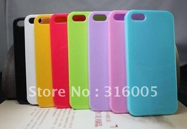 New  TPU shinning Case for iphone 5,Gel TPU Silicone Case Style for iphone5,high quality,10pcs/Lot free shipping