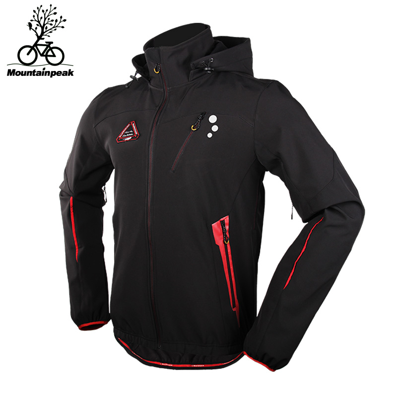 MTP Winter Long Sleeve Windproog Thermal Cycling Jacket Thicken Fleece Lined Waterproof Anti-Static MTB Road Bicycle Clothing цены