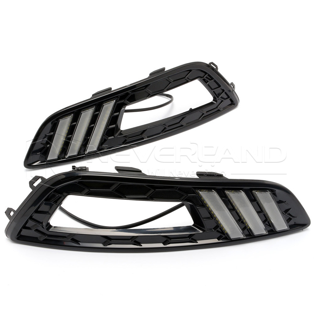 High Quality Car-special LED Daytime Running Light for Ford Mustang 2015 2016 2017 DRL D25