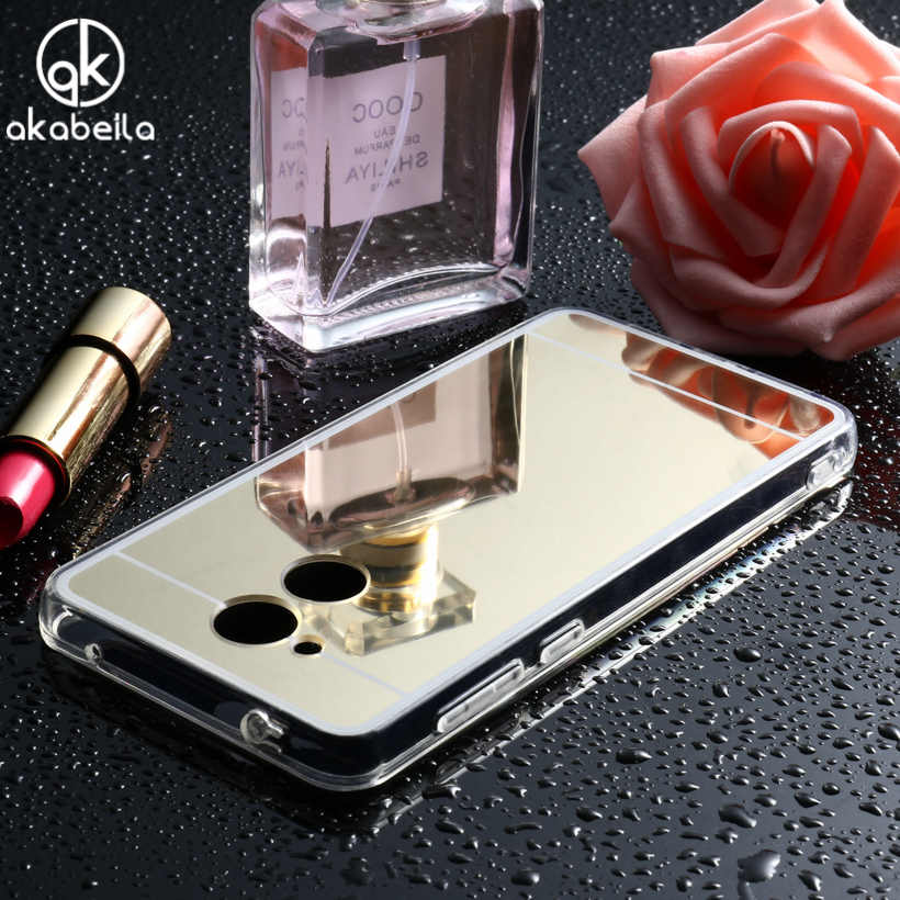 AKABEILA Mirror Cases For Huawei Honor 6A Case Play For Huawei Honor 8X P20 P30 Mate 20 Lite Plus Pro V20 8A 8C 10 Lite Cover