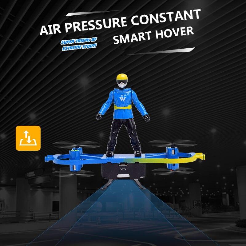 Крутой пульт дистанционного управления летательный аппарат радиоуправляемый самолет вертолет игрушка для двойного режима самолета Прямая комплект