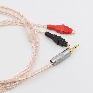 Image 5 - 2,5mm TRRS AUSGEGLICHEN Kabel Für HD650 HD600 HD660s Silber & Kupfer Twisted kopfhörer verbesserte kabel