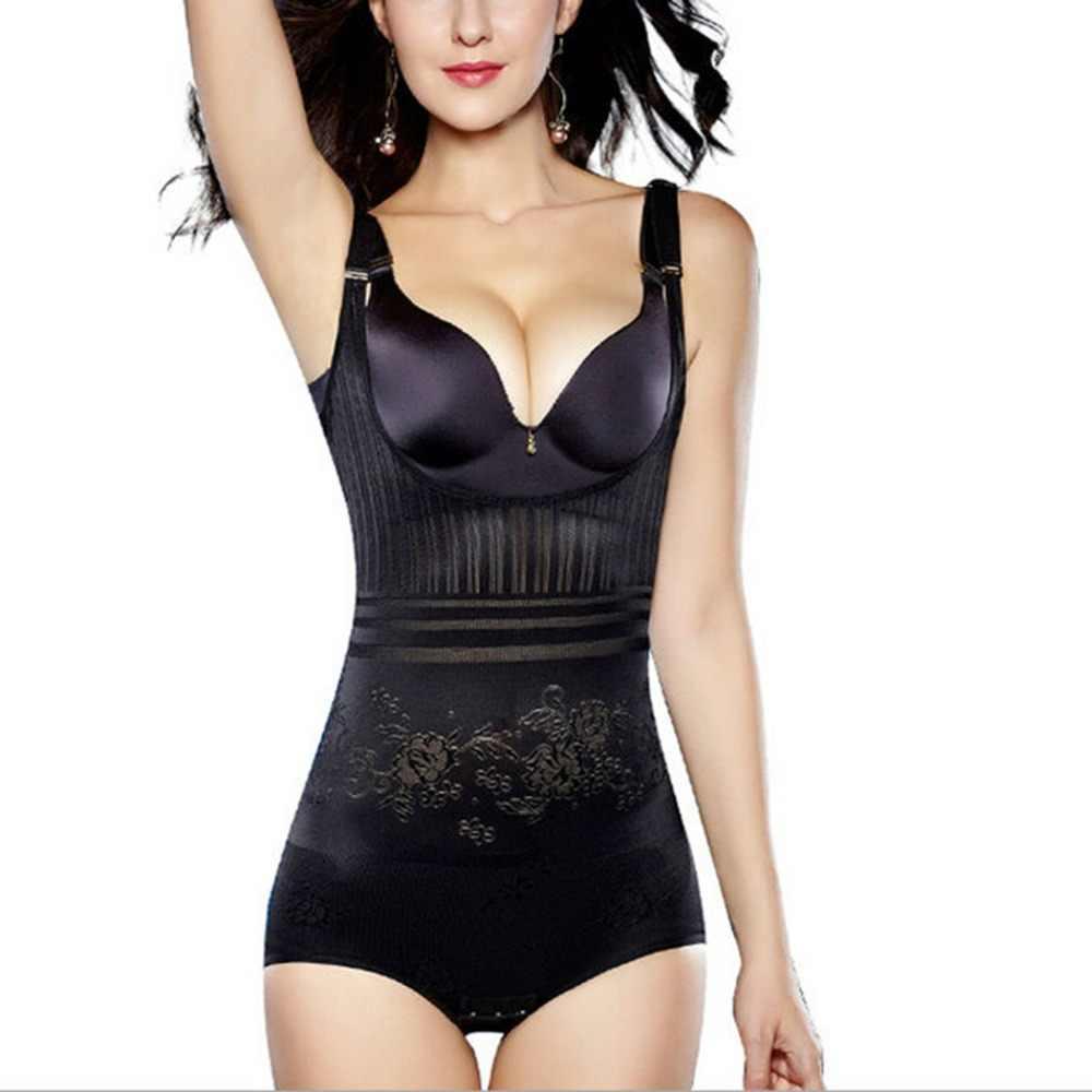 ab26254cca ... Women s Slimming Underwear Bodysuit Hot Body Shaper Waist Shaper  Shapewear Postpartum Recovery Slimming Shaper ...