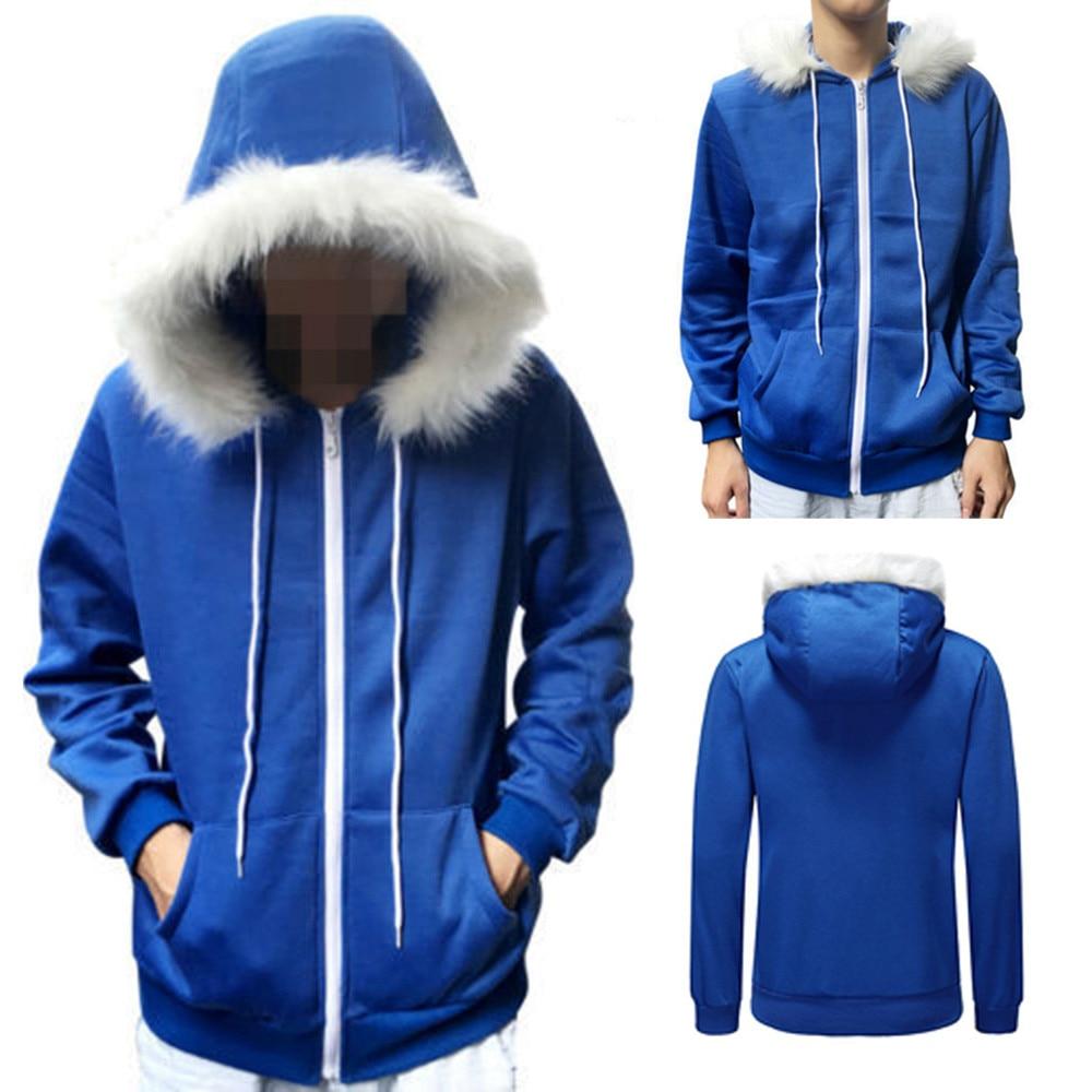 Whoohoo Men Women Cosplay Blue Fleece Hooded Jacket New Costume Warm New Coat Details About Undertale Sans Cosplay Blue Hoodie