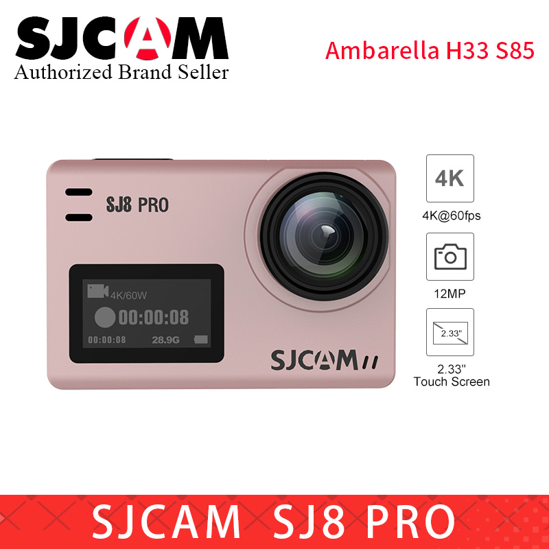 SJCAM SJ8 série SJ8 Air & SJ8 Plus & SJ8 Pro 1290 P yi 4 K caméra d'action WIFI télécommande étanche sport DV PK sj pro yi 4 k h9r - 4