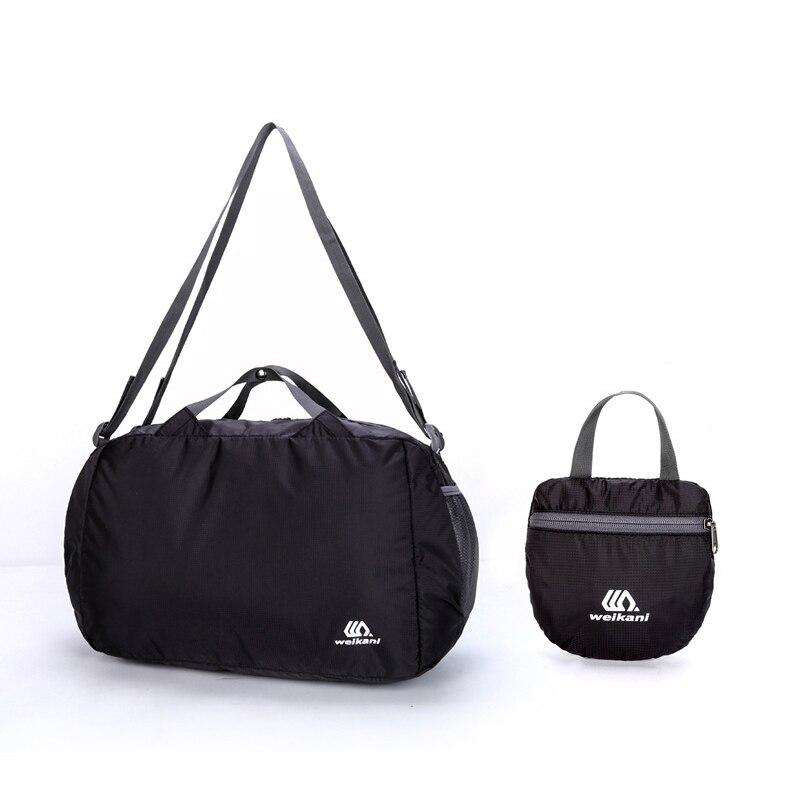 Lightweight Nylon Foldable Backpack Waterproof Outdoor Rucksack Sports Folding Bags Men Women Travel Hiking Backpack