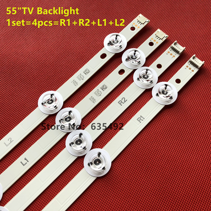 LED Backlight Lamp strip For LG 55inch TV 55LB7200 LC550DUH  6916l-1629A 6916L-1630B 6916l-1741A 6916L-1743B V14 SLIM DRT rev0.0