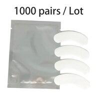 1000pairs/lot brand MINI lint free eye patch Non Irritation Comfort Fit Mini Under Gel Eye Pad for eyelash extensions
