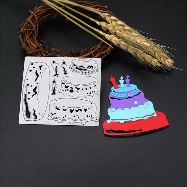 Wondrous Online Shop Birthday Cake Designs Customized Metal Cutting Dies Funny Birthday Cards Online Benoljebrpdamsfinfo