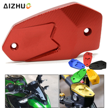 For Kawasaki Versys 650 Versys650 Motorcycle Accessories Cylinder Fluid Reservoir Cover Cap CNC Aluminum With