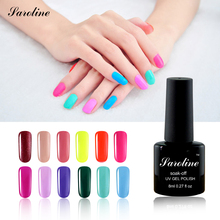 Saroline Baeuty Sweet Lover Gel Polish Soak Off Nail Gel Polish Shiny lucky Color Nail Gel vernis semi permanent cheap gel