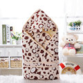 Cartoon baby blankets Newborns Winter Strollers Bed Swaddle Blanket Wrap cute Bedding spring autumn winter