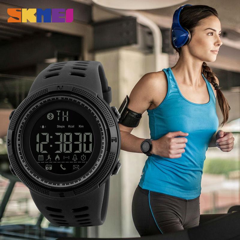 SKMEI Men Watch Wristband Remote-Camera Sleeping-Monitor Pedometer-App Call-Remind IOS