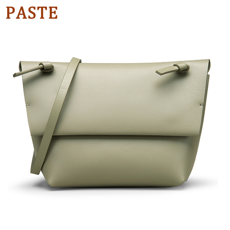 PASTE Famous Designer Mini Crossbody Bags for Women Handbags Split Leather Ladies Hand Bags Purse Soft Messenger Bag Black GreenPASTE Famous Designer Mini Crossbody Bags for Women Handbags Split Leather Ladies Hand Bags Purse Soft Messenger Bag Black Green