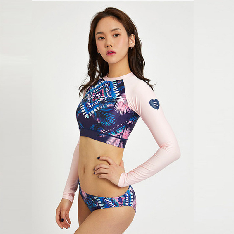 Sports & Entertainment Sports Clothing 2019 New Style Swimsuit Surf For Women Surfing Rash Guard Rushguard Teenagers 2018 Rashguard Dong Female Drifting Outdoor Three Piece Plaid