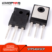Free shipping 10pcs/lot STPS4045CP Schottky rectifier diode 45V 40A TO-247 new original