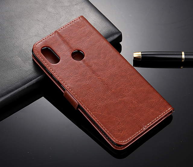 For Zenfone Max Pro M1 Zb602kl Case Premium Leather Wallet Leather