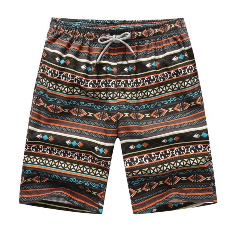 FDWERYNH African Style Men Beach Straight Pants Summer Seaside Loose Floral Shorts Trunks Plus Size For Men's Trousers 5XL 6XL