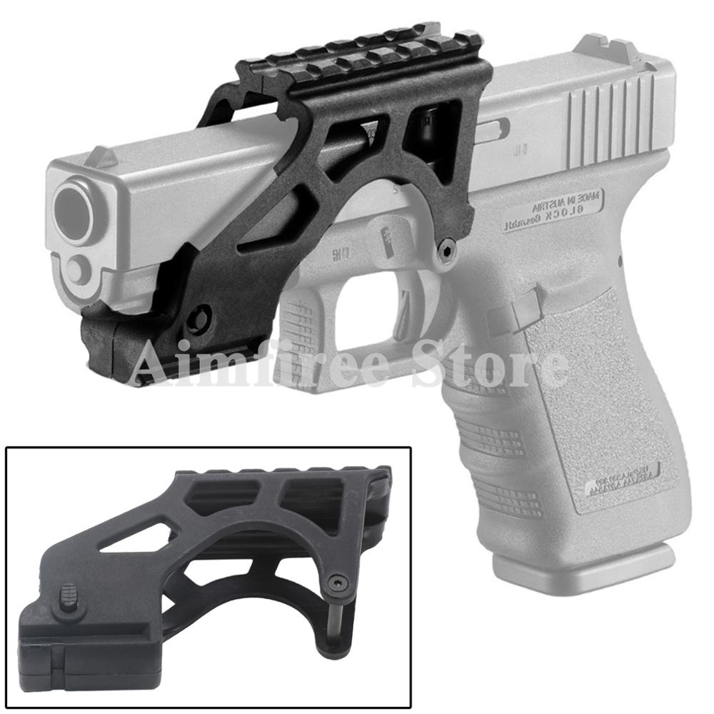 Hunting Quick Detach Flashlight with 20mm Rail for Glock 17 19 20 21 22 23 Hot