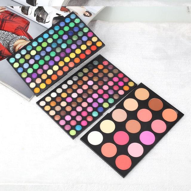 Maquiagem 183 Color Eye Shadow Palette Cosmetic Makeup Shimmer Matte Eyeshadow Pallete Colorful Set Kit