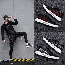 цены Hot sale 2019 New Trend Runshoes Men Sneakers Breathable Mesh Shoes Eva Women Sports Shoes Cool Boy plus large size 39-44