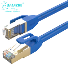 SAMZHE Cat7 FTP Ethernet Patch Cable – RJ45 Computer,PS2,PS3,XBox Networking LAN Cords 0.5/1/1.5/2/3/5/8/10/15/20/25/30/40/50m