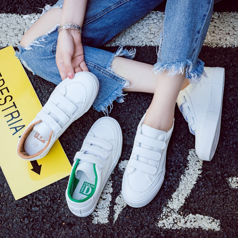 2018 autumn New Fashion Shoes Woman Casual High Platform PU Leather Women Casual White Casual Shoes Vulcanize Sneakers casual casual инсайд
