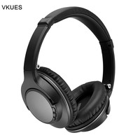 VKUES JH 803 Bluetooth Wireless Headphones Stereo Bluetooth Headset Foldable Over Ear Headphones Support TF Card and FM Radio