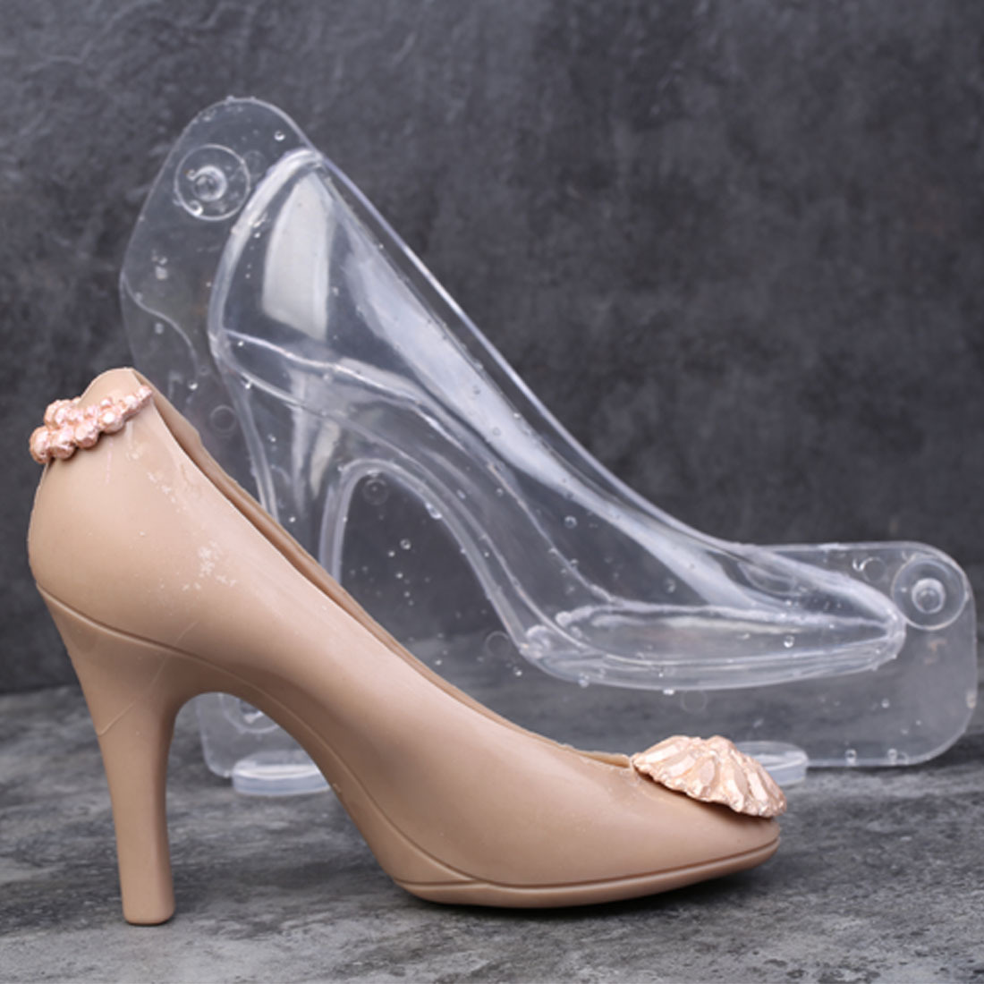 DIY 3D Chocolate Mold High Heel Shoes Candy Cake Decoration Molds Cake Tools