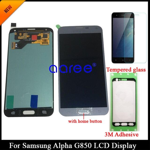 100% اختبار سوبر AMOLED لسامسونج S5 NEO G903 شاشة الكريستال السائل لسامسونج G903F S5 NEO LCD شاشة مجموعة رقمنة اللمس