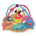 Educativos 6 Animales de Estilo Infantil Baby Play Mat 90 cm * 50 cm Niños Juego Plegable Crawling Gimnasio Tapete de Juego PS40-8