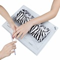 Hot Sale 1 PC Salon Hand Pillow Soft Hand Cushion Rest Pillow Manicure Care Nail Art Tools Design + Table Mat Pad Foldable Tool