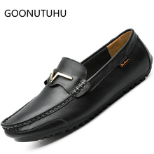 2019 new fashion men's shoes casual leather loafers male classic brown and black slip on shoe man driving shoes for men hot sale ubfen 2017 hot sale casual shoes for men handmade slip on comfortable and soft fashion classic loafers male lazy driving shoes