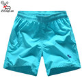 ZiLingLan Fashion Quick Dry High Quality Shorts Men's Solid Color Shorts Men Shorts Beach Sea Trousers Tide Brand Cool Shorts