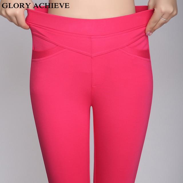 Aliexpress.com : Buy 5 Colors S 3XL Ladies Stretch Capris Pants ...