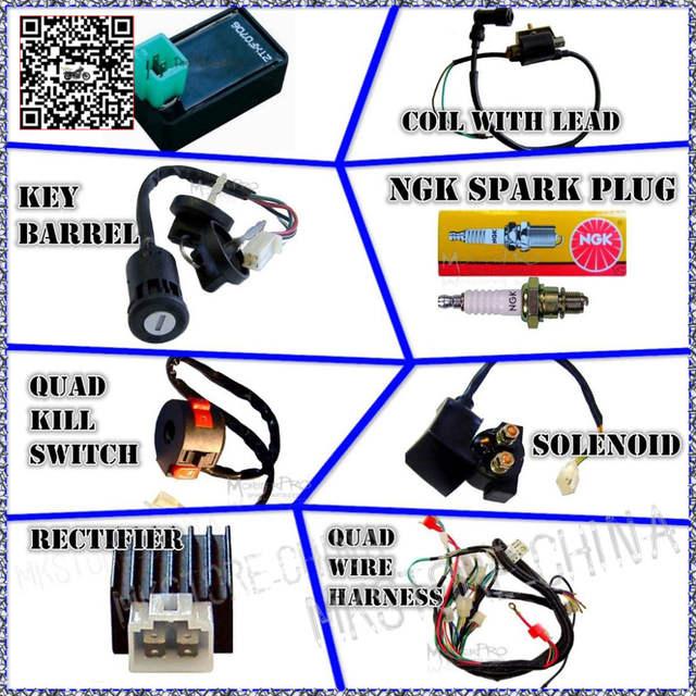 cool sports atv wiring diagram cool sports atv wiring harness | comprandofacil.co alpha sports 150 wiring diagram #6