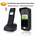 Wireless Audio Intercom Remote Unlock 2.4GHz Full-duplex intercom Digital Audio Intercom Door Phone F1652A