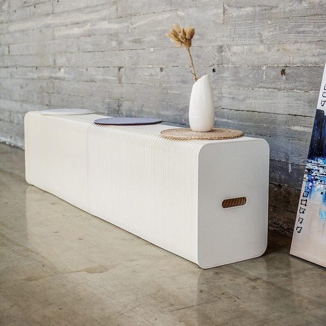 Aliexpress.com: Comprar Taburetes de papel plegables Ihpaper Banco ...