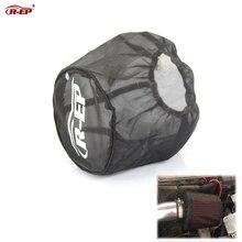 R-EP Универсальный воздушный фильтр Защитная крышка Пылезащитная Водонепроницаемая маска с воздушным фильтром маслостойкая для высокого потока воздухозаборные фильтры черный