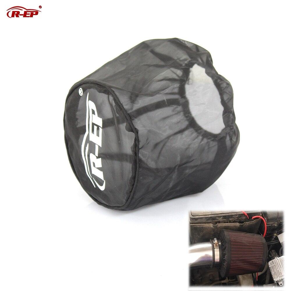 R-EP uniwersalny filtr powietrza osłona ochronna pyłoszczelna wodoodporna maska z filtrem powietrza olejoodporny na wysoki przepływ dopływ powietrza filtry czarny