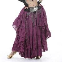 New Style Linen Skirt Gypsy Skirt Clothes Belly Dance Costume Indian Dance Set Bellydance Wear Skirt